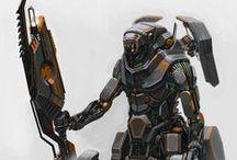 Concept Robots Mech