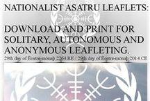 Ēostre-mōnaþ 2264.RE Articles / Nationalist Asatru article Ēostre-mōnaþ 2264.RE