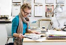 "Dream jobs / My ""Dream Career"" idols - illustrators, textile artists, fabric and pattern designers"