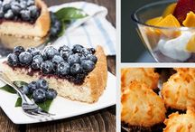 healthy dessert/snack recipes
