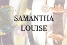 Samantha Louise / Samantha Louise Jewelry grew out of a life long passion for art, design, and jewelry. Everyday, we choose to wear the strand of pearls passed down from our grandmother or the wedding band from our partner. Those pieces serve as a reminder of who we are, where we came from, and where we are going. We are blessed to be a part of the happiest and most memorable moments of people's lives. Available at Oster Jewelers and OsterJewelers.com.