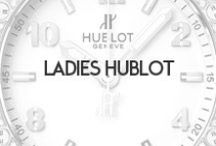 Ladies Hublot / Hublot made its name 30 years ago when it became the first Swiss watch luxury brand to fuse precious metals with functional rubber, sparking a revolution for material innovation and aesthetics. Today, Hublot continues to write the story of the Art of Fusion with the combination of materials like ceramic, carbon, tungsten, titanium, rubber, gold, platinum and diamonds, and remaining true to the Swiss tradition. Available at Oster Jewelers and OsterJewelers.com.