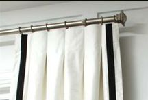 Window Treatment Styles and Ideas / At Transforming Rooms we Custom Design and make Window Treatments that are classic and stylish.