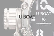 U-BOAT / Italo Fontana, the creator, spent 7 years perfecting the U-BOAT watch. Using 18th century methods of craftsmanship and molding every step and detail by hand, U-BOAT offers a new dimension in timepieces. Italo Fontana has created a whole range of Italian crafted automatic and manual winding high visibility works of art, driven by the most reliable Swiss movements. Available at Oster Jewelers and OsterJewelers.com.