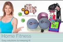 Home Fitness / A range of home fitness products to help you keep in shape. Flatten your tum tum with an abdominal exerciser or ab belt, tone your body with yoga at home. Along with our useful information and tips, you'll get that dream bod you've always wanted!