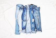 Blue / Blue water, blue sky, blue jeans