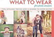 Photoshoot Fashion / What to wear for fantastic portraits