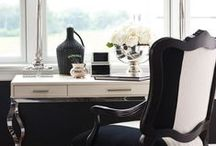 Home Offices: Le Swoon / The most inspiring home office spaces on the web. Ideas for decorating and organizing your home office and desk.