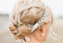 Heavenly Hair / Some of our favorite styles for your big day!