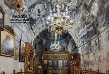 Churches / All the Churches of the Medieval Town of Rhodes! Religion meets culture!
