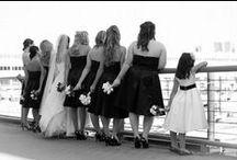 Black and White Wedding Photos