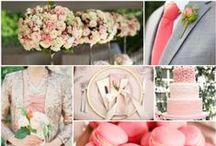 Wedding Color Inspiration Boards