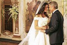 Favorite Celebrity Wedding Dresses and Tuxes of 2014