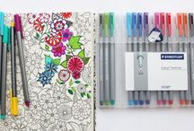 Coloring books for adults / by Roseli Viziolli