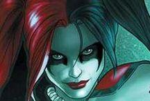 Harley Quinn & Comic Girls