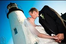 Maine Lighthouses - Ideas & Inspirations For Your Destination Maine Wedding /  On Maine's coast, old giants are the first to greet the light of a new day. Distinctive towers mark the entirety of Maine's shoreline. Today, more than 60 stand testament to the storied past of this frontier state. With more coastal lighthouses than anywhere in the nation, Maine invites you to step into the romance & drama of her past, as you come face-to-face with these monuments of maritime life.