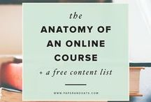 Create an Online Course or Workshop / Tips, tools, and systems for creating information products such as online courses, communities, workshops, bootcamps and webinars.