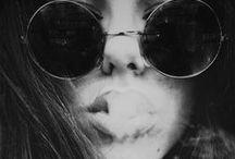 •black & white•