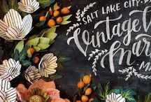 Design | Typography + Graphics + Illustrations / by Meaghan Williams - Oodlelolly Events