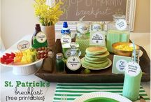 St Patricks Day decor/crafts / by Catherine Delp