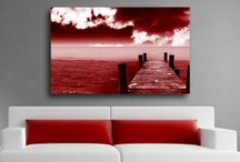 Red Infusion Art / Quality red wall art by Infusion. Unique canvas art prints from only £19.99. / by Infusion Art