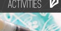 Winter Activities / The cure to Cabin Fever this winter! Crafts, activities, and other fun ideas.