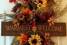 I Love Wreaths / Wreaths - for all Occasions and all Seasons / by Verna's Handmade Jewelry