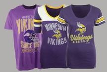 NFL Fan Style | Vikings / Locker Room by LIDS has the best selection of NFL apparel, headwear and novelty products. Don't limit your team spirit to gameday - Support the Minnesota Vikings in your everyday looks! Shop at www.LIDS.com. / by Locker Room by LIDS