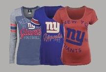 NFL Fan Style | Giants / Locker Room by LIDS has the best selection of NFL apparel, headwear and novelty products. Don't limit your team spirit to gameday - Support the New York Giants in your everyday looks! Shop at www.LIDS.com.  / by Locker Room by LIDS