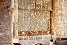 Lights & Curtains / by MrsMara
