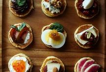 Rock 'n' Roll / Client Presentation - Hors d'oeuvres for 1970s Party Scene