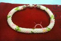 Bead crochet pattern 6 - 9 around