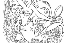 Colouring pages / by Steve Tomlins