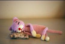 Crochet ideas toys - Nápady na háčkování