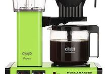 Moccamaster Brewers / Each brewer is handmade in Holland and brews a full pot of coffee in 6 minutes at a precise 92-96 degrees. Moccamaster is built on the simple idea: For a better cup of coffee. Day after day, cup after cup.