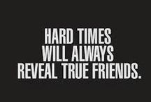 Friendship / Quotes and pictures about frienship