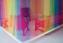 Taste the Rainbow / Celebrating the clever use of colour in home design