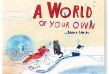 Laura Carlin: A World of Your Own / Spreads and artworks from Laura Carlin's new book, 'A World of Your Own'.