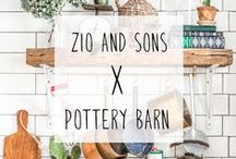 Pottery Barn x Zio & Sons / Zio & Sons team up with Pottery Barn for an exclusive Instagram takeover in our NYC space.