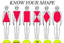 Dress for your shape / Determine and embrace your body type. Body shape is all about proportion, and fashion is all about dressing those proportions to look their very best.