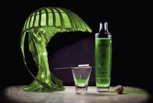 """Absinthe Inspired / Modern historians seem to agree that the effects of absinthe were greatly overrated and that any toxic effects produced by the wormwood would have been overshadowed by the elevated alcohol content of the drink (72%).   ~ """"Absinthe is the aphrodisiac of the self. The green fairy who lives in the Absinthe wants your soul.""""  ~ Dracula by Bram Stoker / by Tikita - Only1tikita -"""