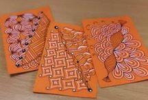 My artworks: doodling, mandala, zentangle