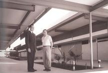 Architect Donald Wexler / Donald Allen Wexler (January 23, 1926 – June 26, 2015) was an influential Mid-Century modern architect whose work is predominantly in the Palm Springs, California area. He is known for having pioneered the use of steel in residential design.