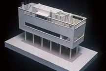 Architects Figini and Pollini / Luigi Figini (1903 – 1984) e Gino Pollini (1903 – 1991) sono stati due architetti Italiani del XX secolo legati da un sodalizio durato più di 50 anni.  Le loro storie professionali sono quindi inscindibili l'una dall'altra e sono legate alle opere che congiuntamente hanno progettato e realizzato.