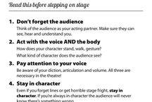 Theatre activities