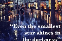 """The World Lights Up / """"May it be a light to you in dark places, when all other lights go out..""""       J. R. R. Tolken."""