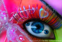 """Color My World / Quote:  """"When you reduce life to see black and white you need Rainbows"""".      :))"""