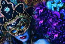 """Behind the Mask / Quote """"People are like stained glass windows.  They sparkle and shine when the sun is out, but when the darkness sets in, their love and beauty is revealed only if there is light within"""". (Elizabeth Kubler Ross)."""