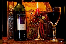 Good Wine is Best with Good Friends / Quote: Wine .... Age appears to be best in three things.. Old wood to burn... Old friends to trust... and Old wines to drink..  :))
