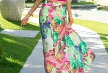 Maxi Dresses And Skirts / by Amelia